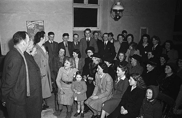 [A Noson Lawen in Pennant Melangell, 1948]