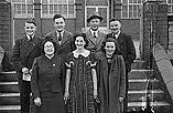 [Urdd Eisteddfod in Rhyl, five drama groups in the Urdd competition]