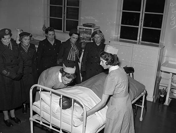 [WRVS Nursing and First Aid Competition at the Orthopaedic Hospital, Gobowen]