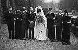 [Wedding of Freda Garnett to George Albert Lewis at the Crescent Church, Newtown]