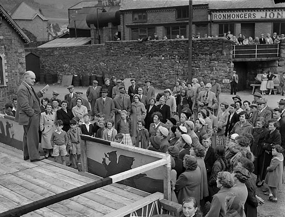 [Festival of Wales week at Blaenau Ffestiniog 1958]