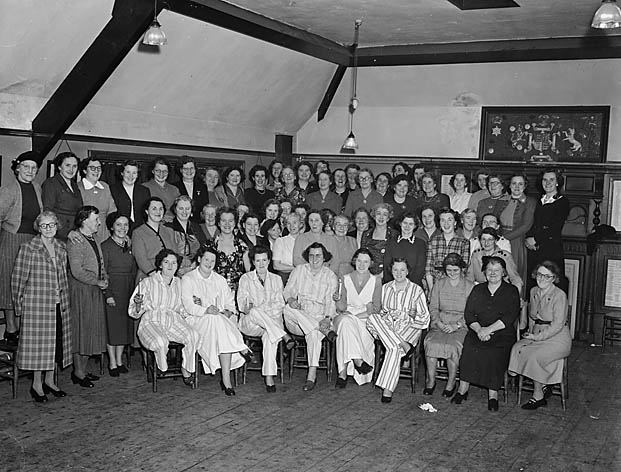 [Chirk Women's Institute party]
