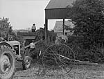 [Threshing day and other images for Y Cymro Agricultural supplement]