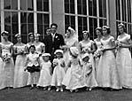 [Wedding of Miss Theresa Crossley to Alain Camu at St Joseph, Hawkstone Park]