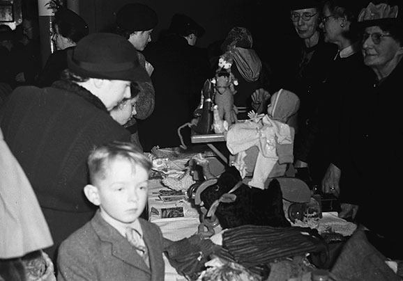 [Oswald Road Presbyterian Church Oswestry, Bring and Buy sale, December 1948]