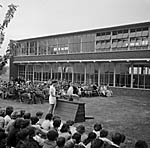 [Sports day at Ellesmere Secondary Modern School]
