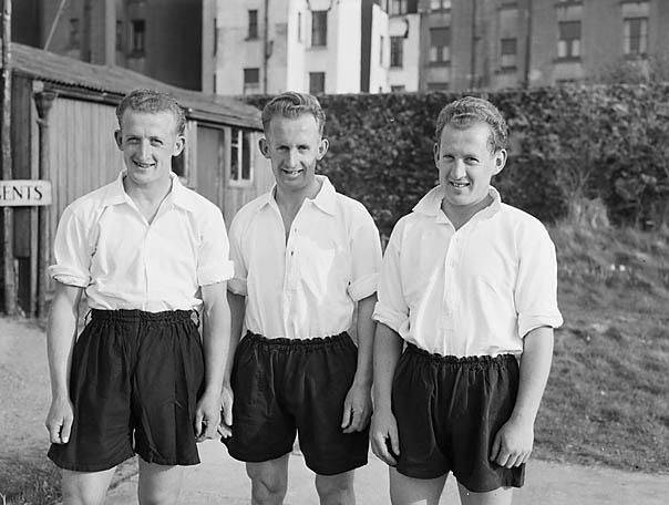 [Three footballing brothers from Pwllheli and Rhyl]