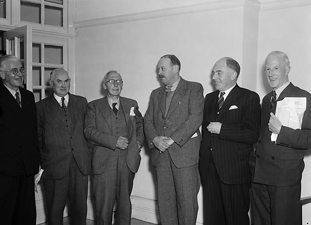 [Radnor Society officers with Michael Llewelyn]