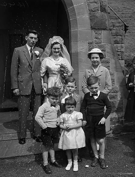 [Morris/Evans wedding at Llanrhaeadr-ym-Mochnant]