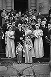 [Wedding of Margaret Lewis and Emlyn Thomas at Newtown Baptist Church]