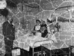 [Pwllheli Ala Road Hospital, Christmas 1958]