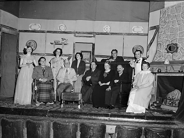 "[Chirk Music and Drama Club who performed ""The Wishing Well""]"