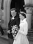 [Wedding of Frances Olwen Bailey to David Alfred Nancini at Horeb Welsh Methodist Chapel, Oswestry]