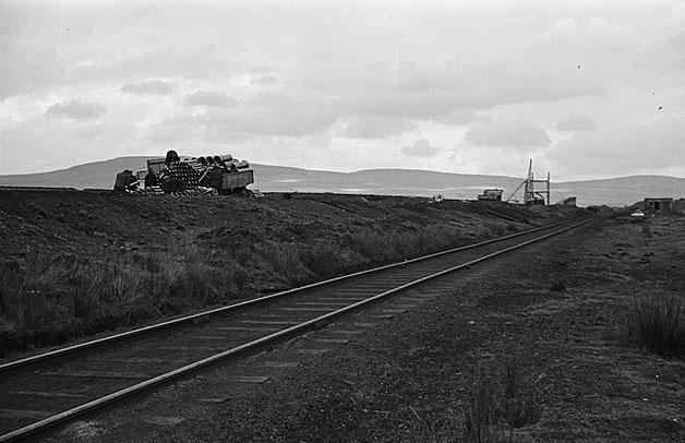 [The open cast mine at Gwauncaegurwen, 1949]