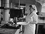 [Supplying meals for small schools from the Central Kitchen at Ifton Heath]