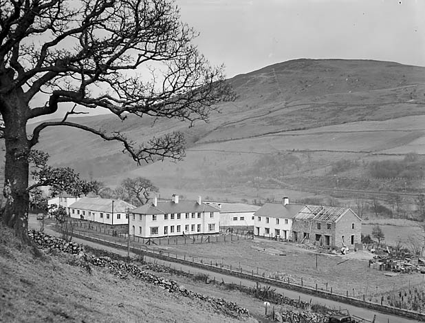 [Meirion Dairy, Rhydymain; the workers and their houses]