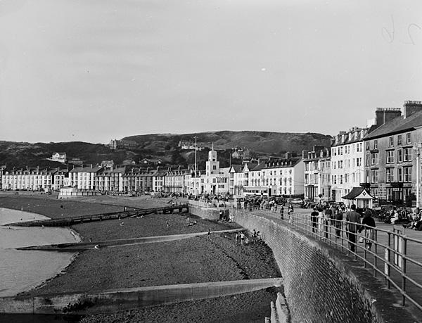 [Aberystwyth sea-front views]