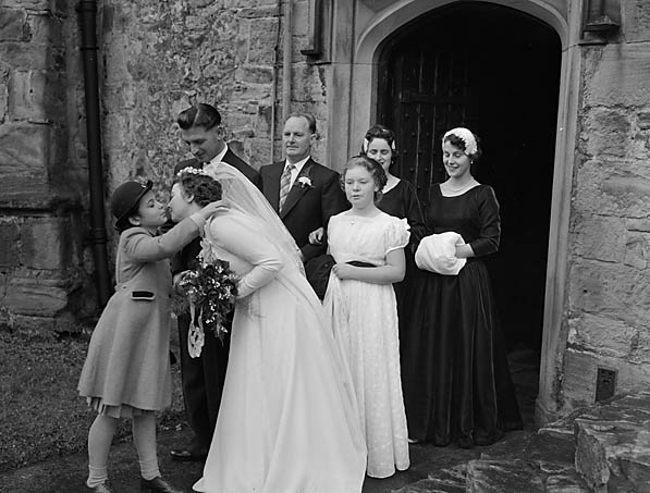 [Wedding of Katherine Elizabeth Roberts to George Wallace Price at Chirk]
