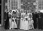 [Wedding of Beryl Ashford to Glyn Edwards at Penygarnedd]