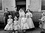 [Wedding of Elizabeth Morfudd Evans, Llansilin, to John Henry Lloyd, Rhydycroesau]