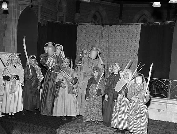 [Passion play performed by St Matthew's Church, Criftins]