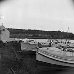 [Felinheli views with sailing boats]