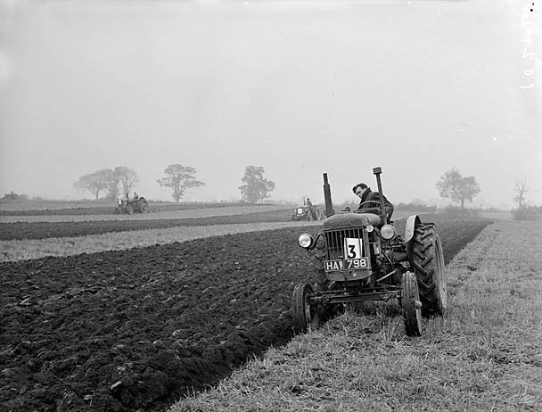 [Ellesmere Junior YFC ploughing matches at Hordley]