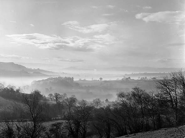 [Misty landscape]