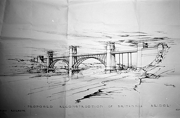Britannia bridge's new design