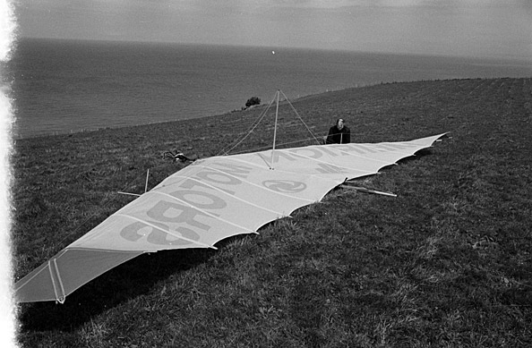 Jay Long hang gliding