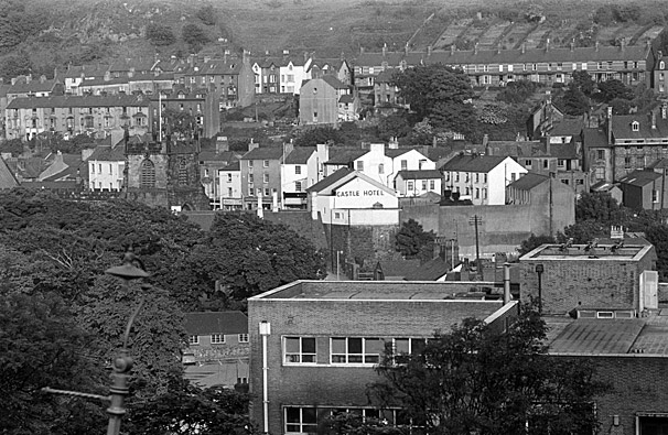 Bangor views and Geoff Charles' house at Brynteg Terrace