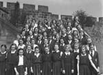 [Schools festival at Shrewsbury Castle]