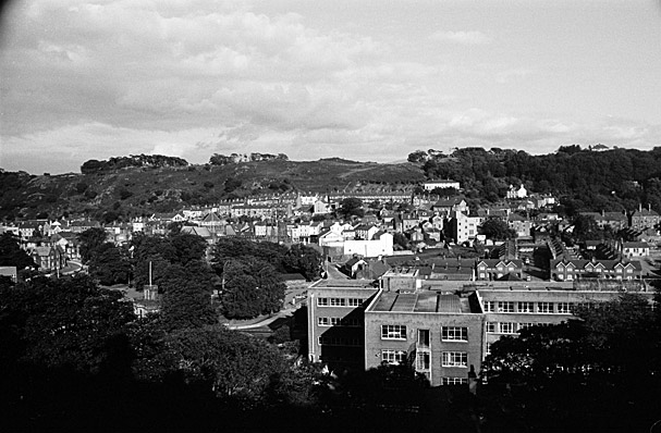 Views of Bangor from Upper Bangor
