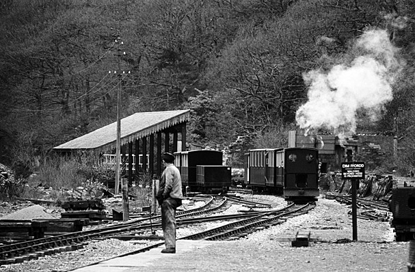 The Padarn Lake Railway, Llanberis, after it reopened
