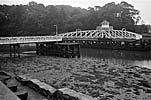 The Aber swing bridge, Caernarfon