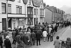 """Celebrating the centenary of the North Wales Quarryman's Association near """"Craig yr Undeb"""", Penllyn, Llanberis"""