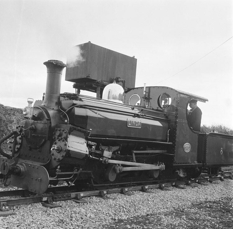 [Seasonal opening of Ffestiniog Railway 1964 with expedition to Blaenau and proposed extension]