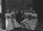 [Wedding of Mr F. B. Hay to Miss M. S. Hunter at St Alkmund's, Shrewsbury]