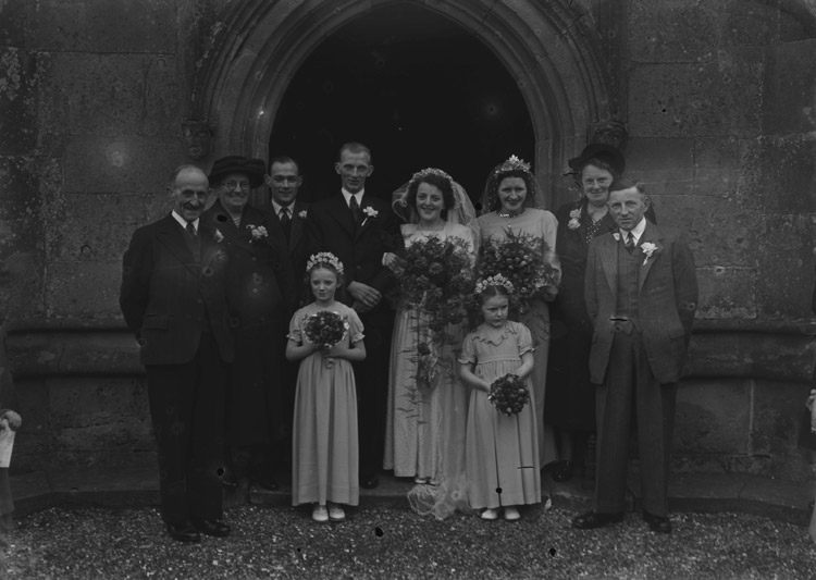 [Pugh/Partridge wedding at Ightfield]