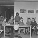 Children in a Llanuwchllyn play