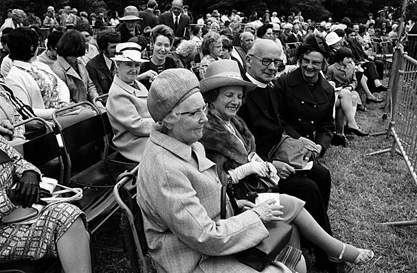 Proclaiming the Dyffryn Clwyd National Eisteddfod 1973 at Ruthin
