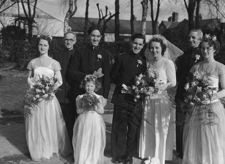 [Wedding of Mr Eric Prior and Miss Jean Beedell, Shrewsbury]