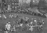 [Dancing opens Festival of Britain at Shrewsbury Castle]
