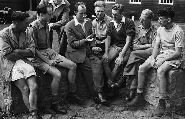 [Six day Motor Cycle Trials at Llandrindod, 1949]