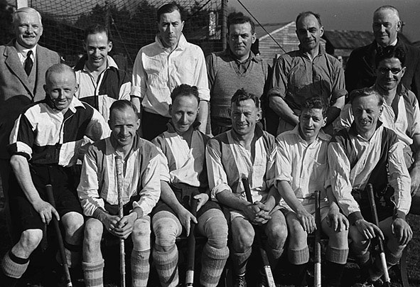 [The Ruthin and Oswestry Hockey Teams]