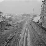 [Joining of the ex Y Bala/Ffestiniog railway at Blaenau Ffestiniog to have a clear run to Trawsfynydd]